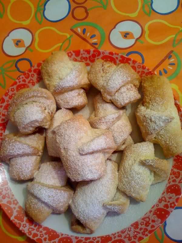 Ricetta dei Cornetti Biscotto di Anna Moroni