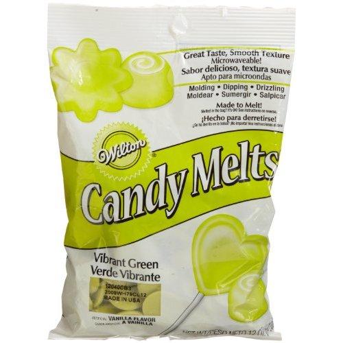 Candy melts Wilton Vibrant Green 280 gr