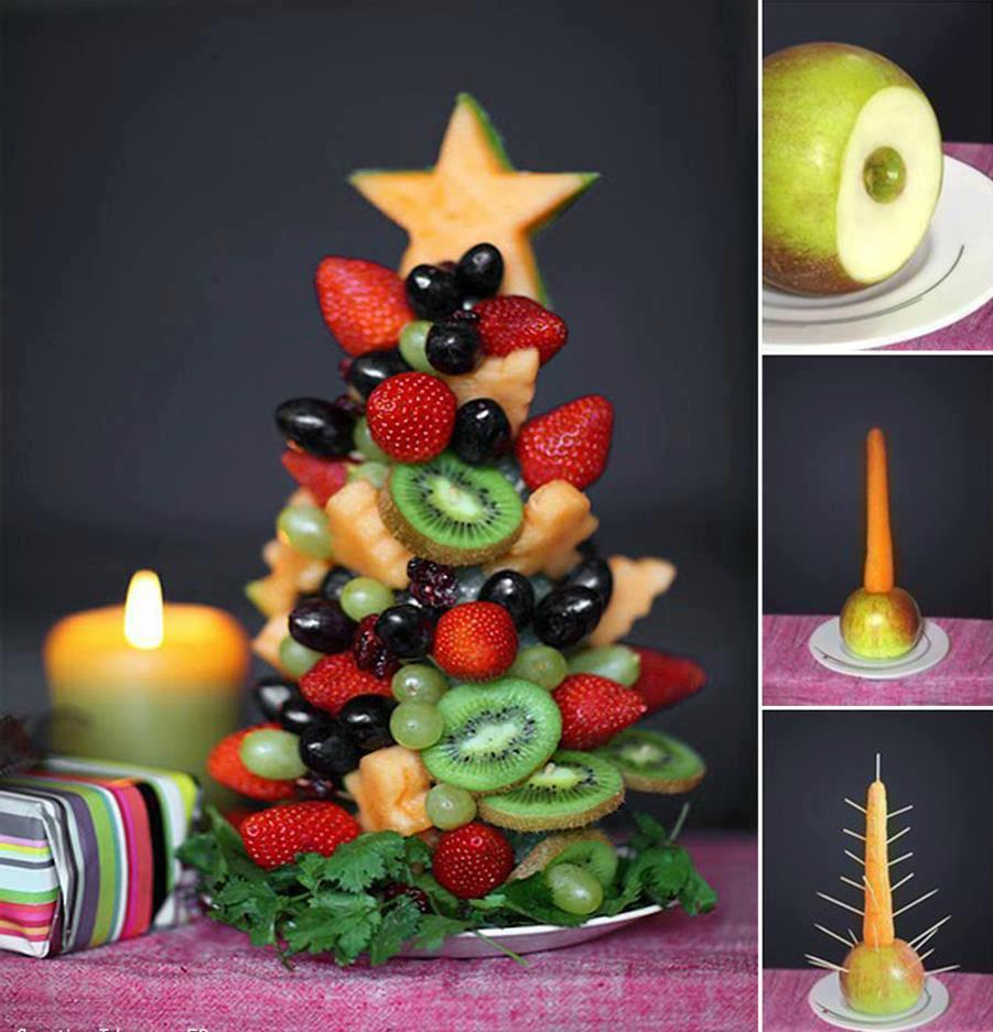 Albero di Natale di Frutta