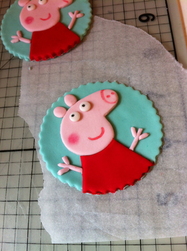 Come realizzare topper di Peppa Pig