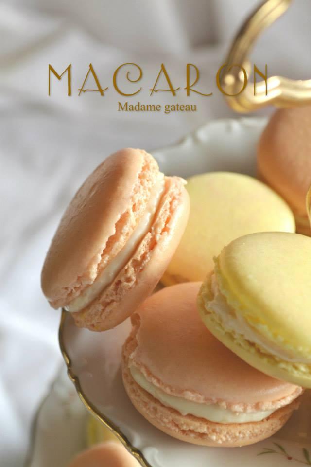 Macaron con crema al burro