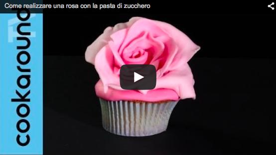 Come realizzare una rosa in pasta di zucchero