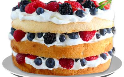 Ricetta Chiffon Cake farcita