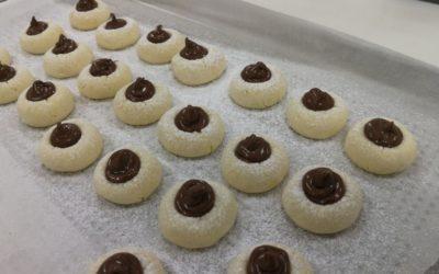 Biscotti di riso alla Nutella